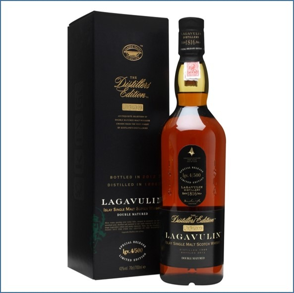 LAGAVULIN 1996 DISTILLERS EDITION Bot.2012 70cl 43% 拉加維林收購 1996-2012 雙桶