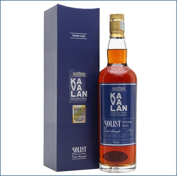 Kavalan Solist Vinho Cask #092A (2012) Taiwanese Single Malt Whisky 70cl 57.1%