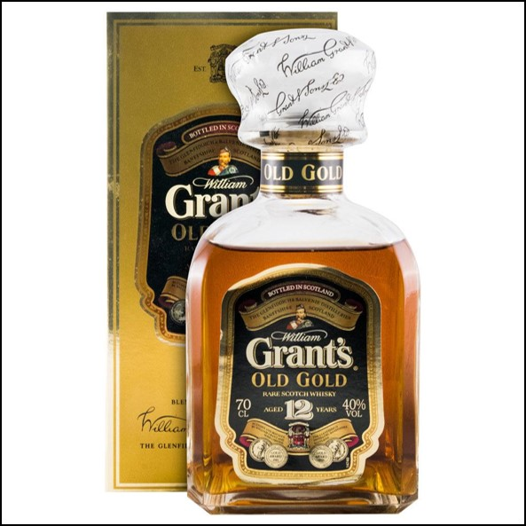 Grant's Old Gold 12 Year Old 70cl 40%