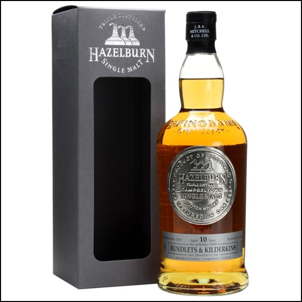 Hazelburn 10 Year Old 2003-2014 Rundlets & Kilderkins Campbeltown Single Malt Scotch Whisky 70cl 50.1%