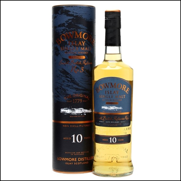 Bowmore Tempest 10 Year Old Batch 3  70cl 55.6%