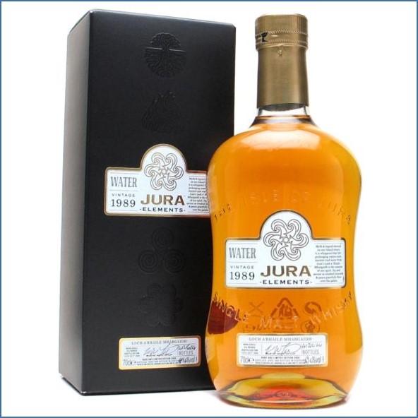 Isle of Jura Elements Water 1989-2008 Loch A'bhaile Mhargaidh Island Single Malt Scotch Whisky 70cl 49.6%
