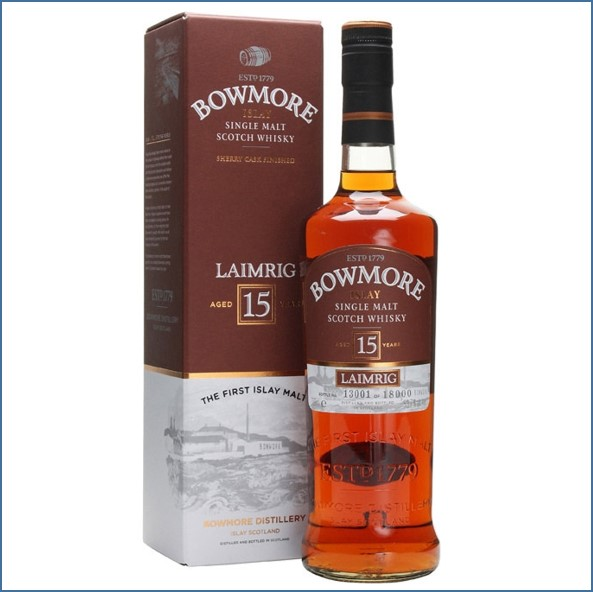 Bowmore 15 Year Old - Laimrig Batch 3  70cl  53.7% Sherry Casks 2012
