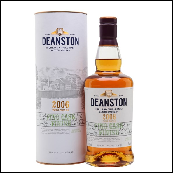 Deanston 2006 12 Year Old Fino Finish Review 70cl 55%