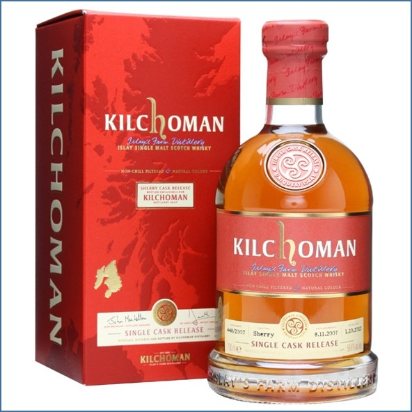 Kilchoman 2012 Single Sherry Cask 448 2007 70cl 59.8%