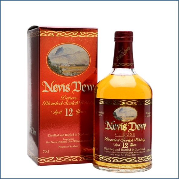 Dew of Ben Nevis 12 Year Old Blended Scotch Whisky 70cl 40%