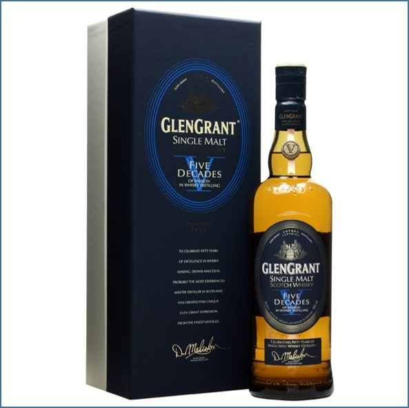 Glen Grant Five Decades Speyside Single Malt Scotch Whisky 70cl 46%