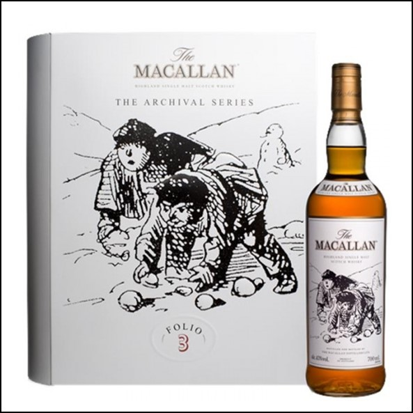 收購麥卡倫 書冊 3/ Macallan The Archival Series  Folio 3 70cl 40%