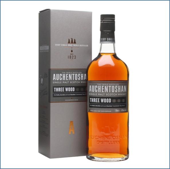 Auchentoshan Three Wood Whisky 70cl 43%