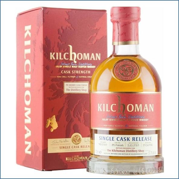 Kilchoman 2016 5 Year Old Single Cask PX Finish 2010 70cl 57.7%