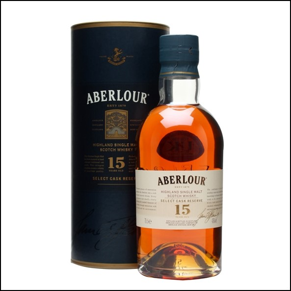 ABERLOUR 15 YEAR OLD Select Cask Reserve 70cl 43% 收購亞伯樂 15年