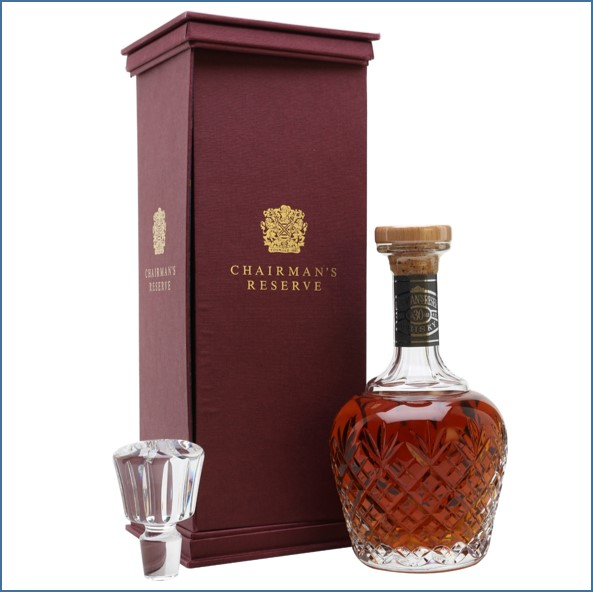 Chivas Regal 30 Year Old - Chairman's Reserve - Baccarat Decanter 75cl 43%