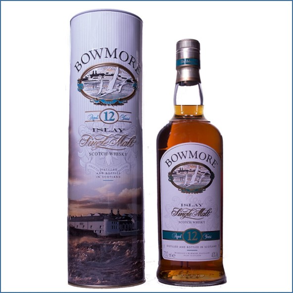 Bowmore 12 Year Old Metalltube 70cl 40%