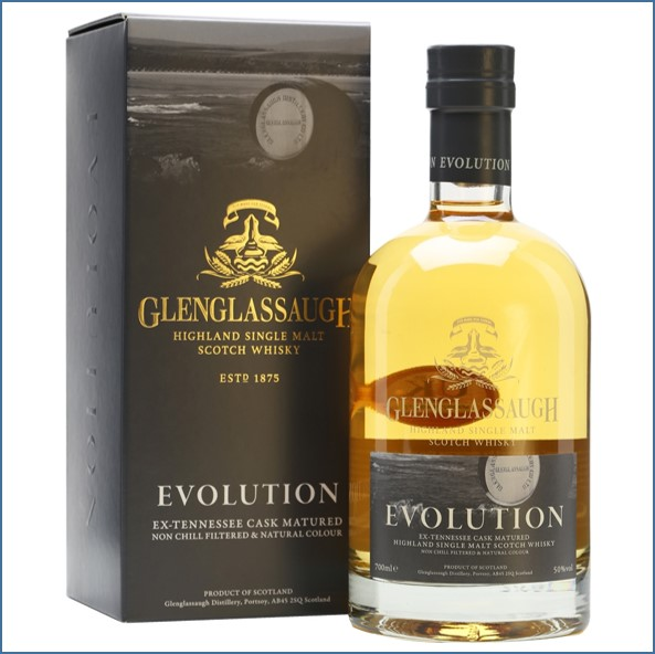 Glenglassaugh Evolution Highland Single Malt Scotch Whisky 70cl 50%