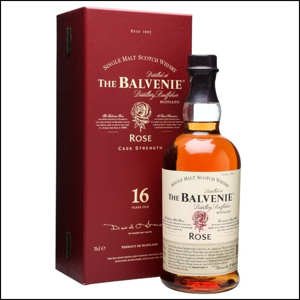 Balvenie 1991 Rose 16 Year Old 2 Release 70cl 50.3% 2010