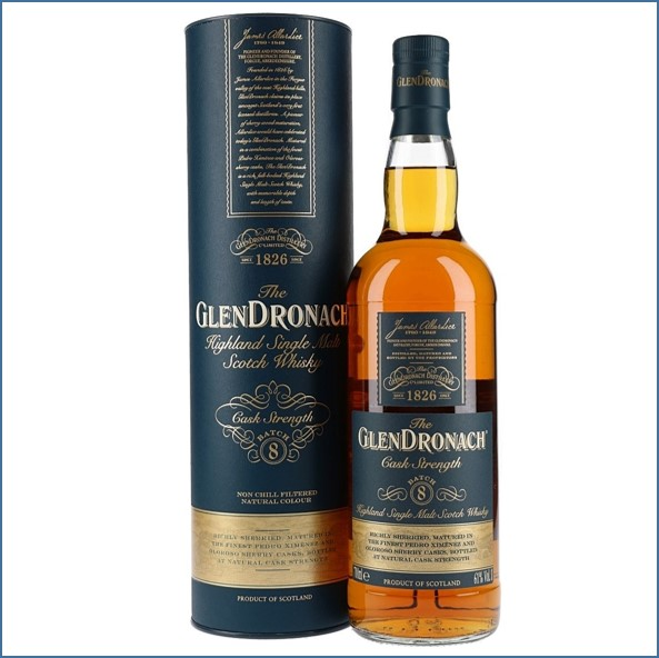 Glendronach Cask Strength Batch 8 70cl 61%