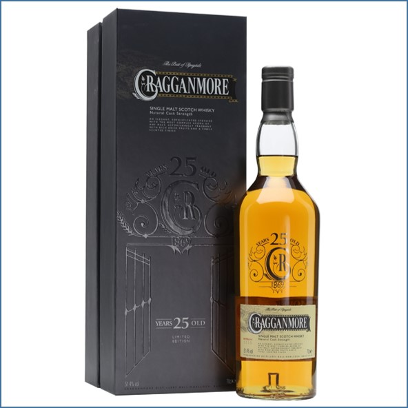 Cragganmore 25 Year Old Special Releases 1988-2014 Speyside Single Malt Scotch Whisky 70cl 51.4%