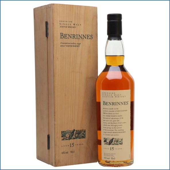 Benrinnes 15 Year Old Flora & Fauna 1st Release Speyside Single Malt Scotch Whisky 70cl 43%