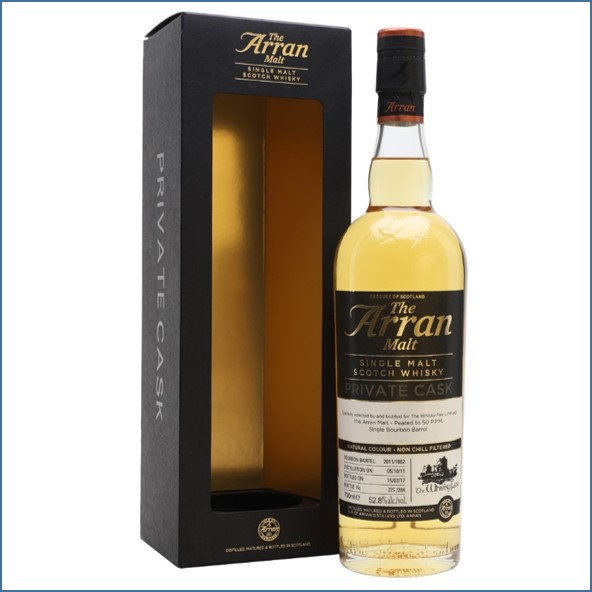 Arran 5 Year Old 2011 Whisky Agency 70cl 52.8%