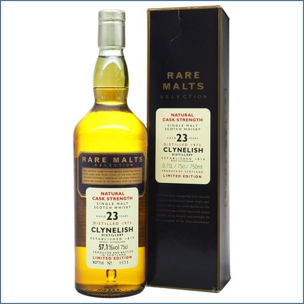 Clynelish 1972 23 Year Old Rare Malts Highland Single Malt Scotch Whisky 70cl 57.1%
