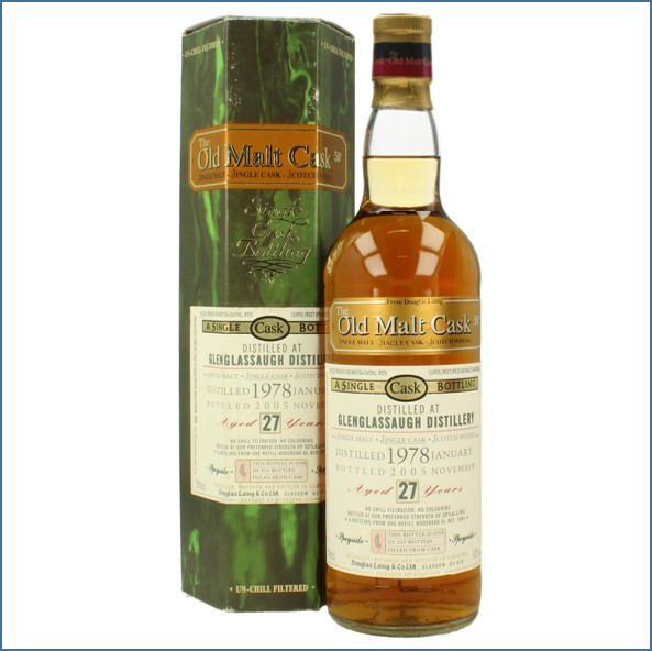 Glenglassaugh 1978 25 Years Old Sherry Cask 2005 Highland Single Malt Scotch Whisky Douglas Laing 70cl 50%