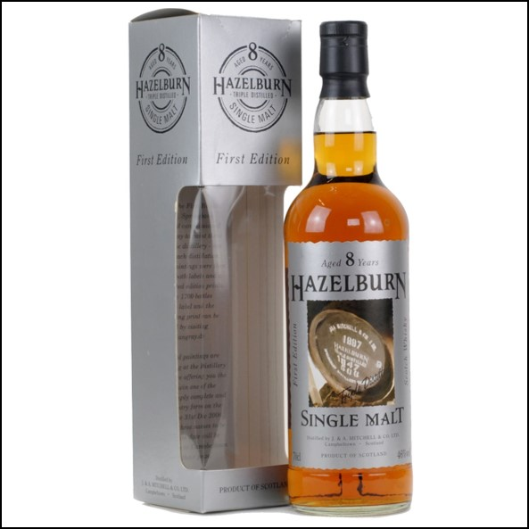 Hazelburn 8 Year Old 2005 First Edition 70cl 46%