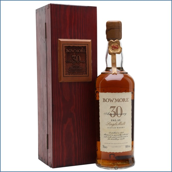 Bowmore 30 Year Old 1963  30th Anniversary 70cl 50%