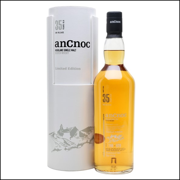 ANCNOC 35 YEAR OLD 2nd Release 70cl 41%