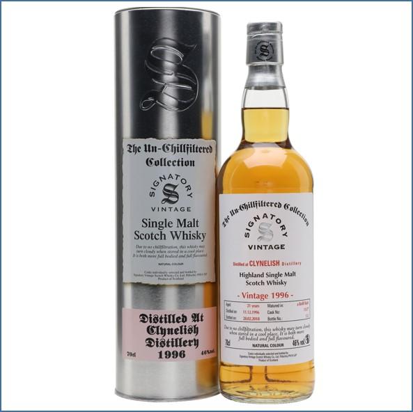 Clynelish 1996 21 Year Old 2018 Signatory Highland Single Malt Scotch Whisky 70cl 46%