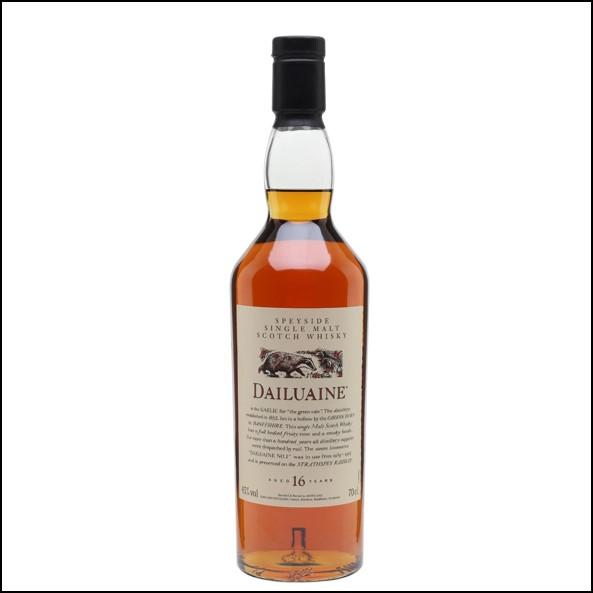 收購大雲威士忌/ Dailuaine 16 Year Old Flora & Fauna Speyside Single Malt Scotch Whisky 70cl 43%