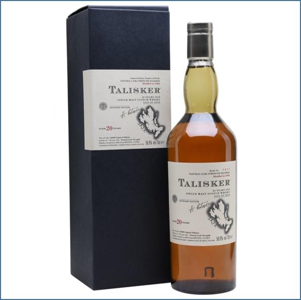 Talisker 20 Year Old 1982 70cl 58.8%