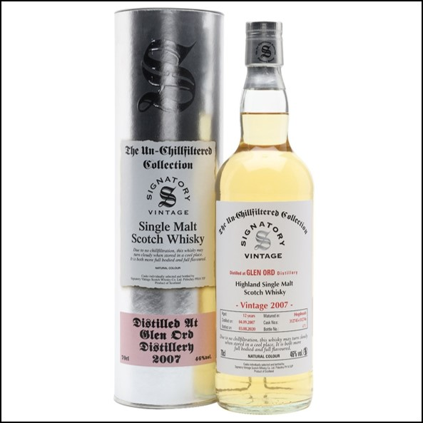 Glen Ord 2007 12 Year Old Signatory 70cl 46%