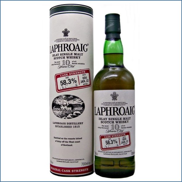 收購拉佛格10年原酒收購 Laphroaig 10 Year Old Cask Strength Batch 004 Bot.2012 70cl 58.3%