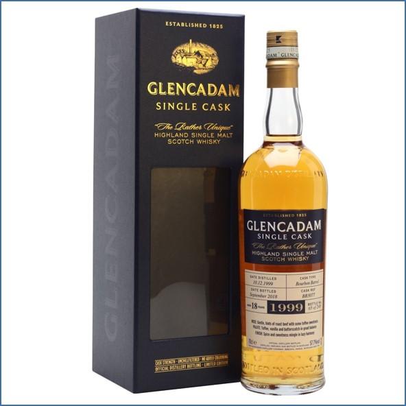 Glencadam 18 Year Old Cask #3077 1999 70cl 57.7%