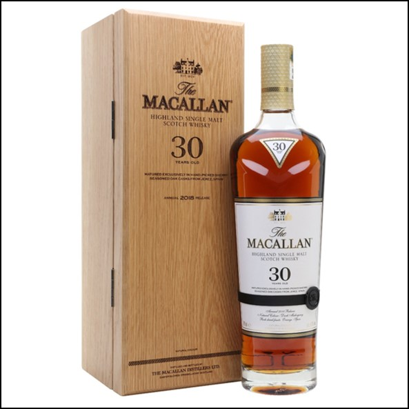 Macallan 30 Year Old Sherry Oak 2018 Release
