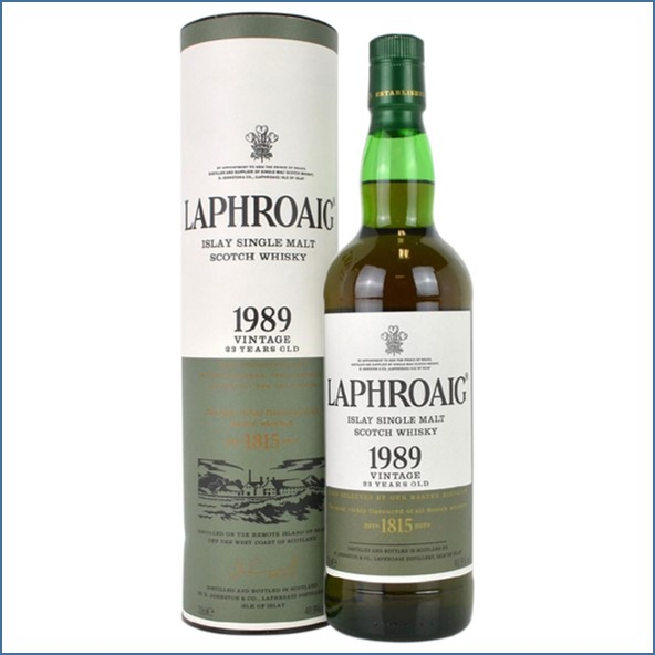 Laphroaig 23 years old 1989 70cl 48.9%
