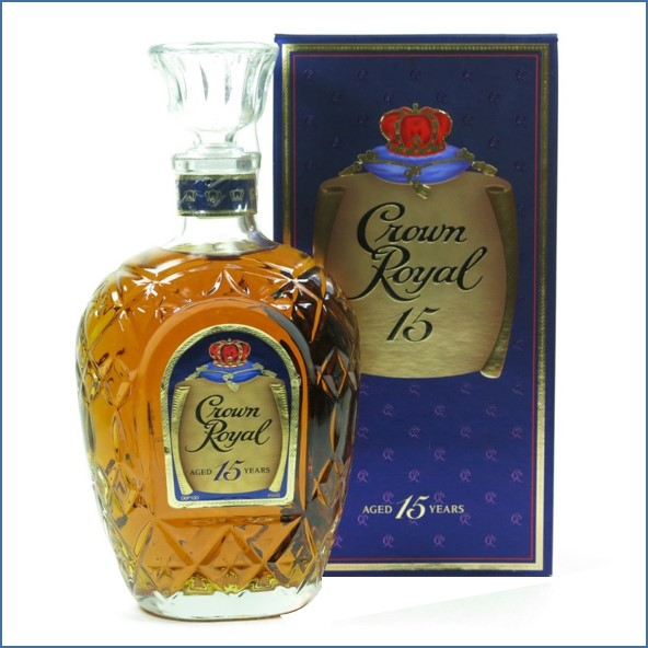 Crown Royal 15 Year Old 1980s  75cl 40%