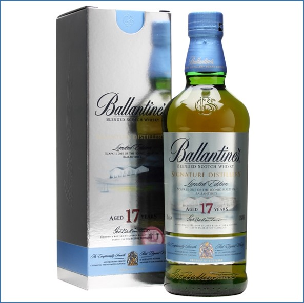 Ballantine's 17 Year Old Signature Distillery- Scapa 70cl 40%