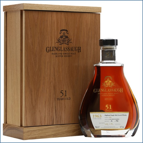 Glenglassaugh 51 Year Old 1963 Highland Single Malt Scotch Whisky 70cl 41.7%