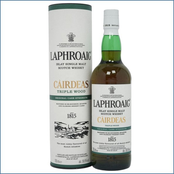 拉佛格收購 Laphroaig Cairdeas 2019 Triple Wood - Fèis Ìle  70cl 59.5%