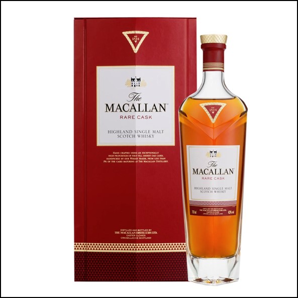 收購麥卡倫/ Macallan Rare Cask Bottled Pre 2018 70cl 43%