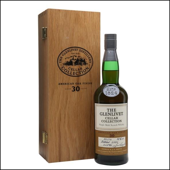 Glenlivet 30 Years Old Cellar Collection Bottled 2001 70cl 48%