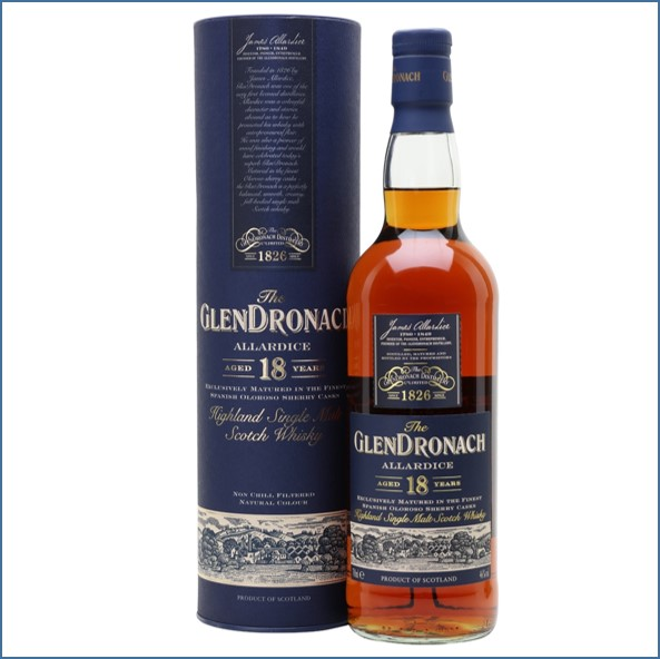 Glendronach 18 Year Old Allardice Sherry Cask 70cl 46%