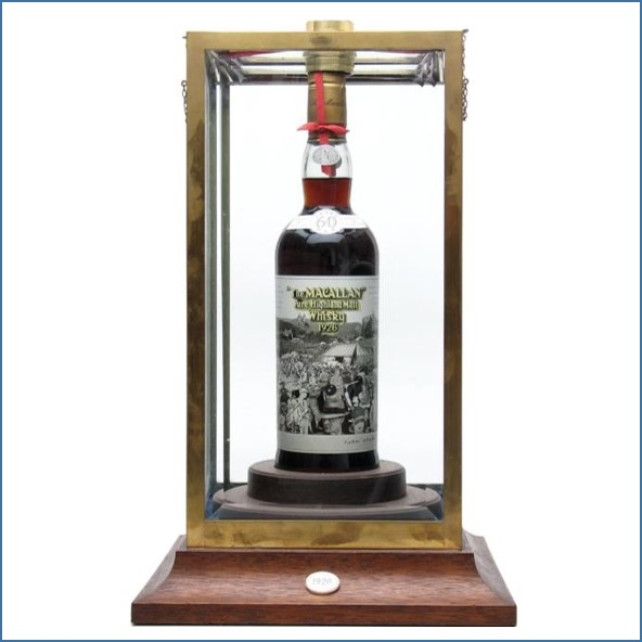 Macallan 1926 - 60 Year Old - Peter Blake Label 75cl 42.8%