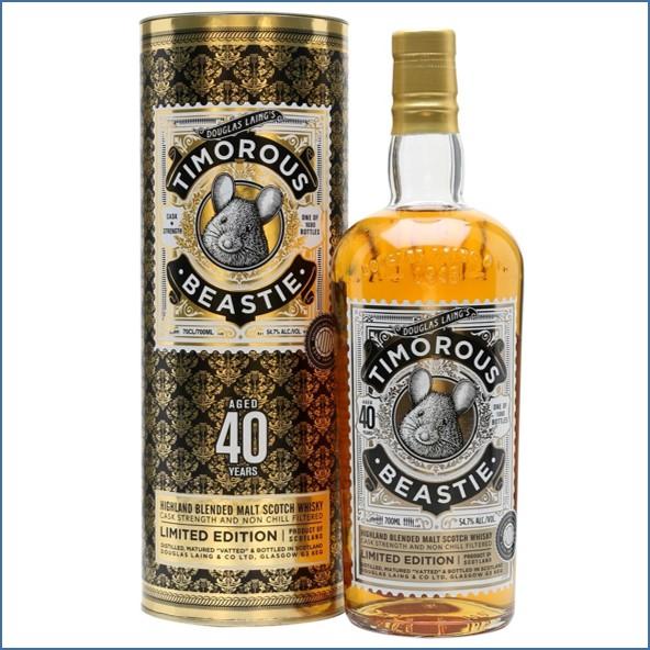 Timorous Beastie 40 Year Old Highland Blended Malt Douglas Laing 70cl 54.7%