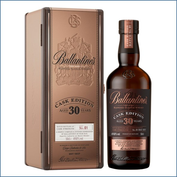Ballantine's 30 Year Old   limited Cask Edition 50cl 49.8%
