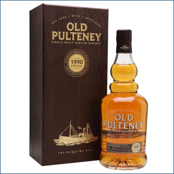Old Pulteney 26 Year Old 1990 70cl 46%