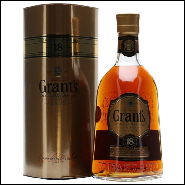 Grant's 18 Year Old Blended Scotch Whisky 75cl 40%