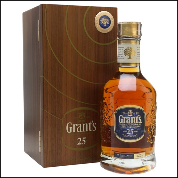 Grant's 25 Year Old Blended Scotch Whisky 70cl 40%