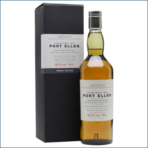 Port Ellen 1978  25 Year Old  4th Release 2004 70cl 56.2%